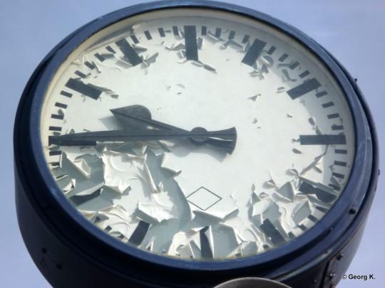 Zeit ist vergänglich
